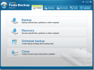 EaseUS Todo Backup crack and Free Download